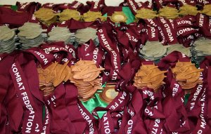 Competitor medals at the ready!