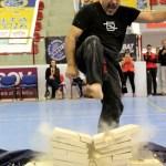Master De Sabato's rock hard feet!