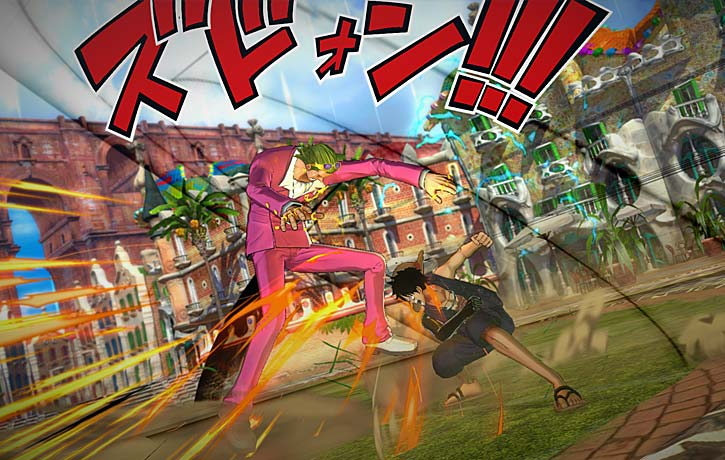 Luffy going for the win!