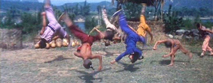 The kids from Shaolin strut their stuff