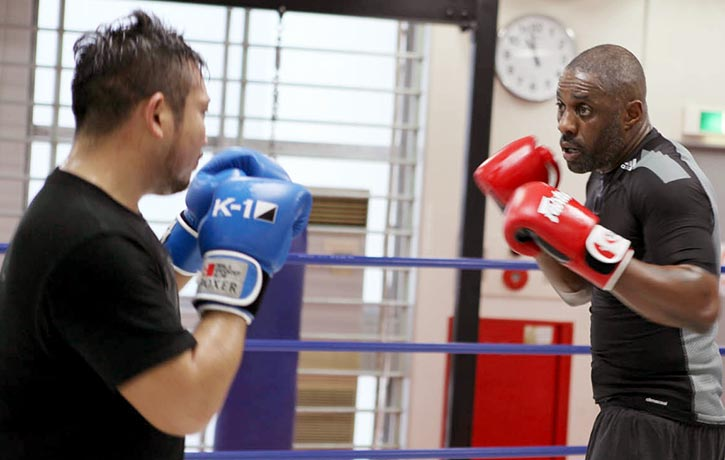 Sparring with Nori