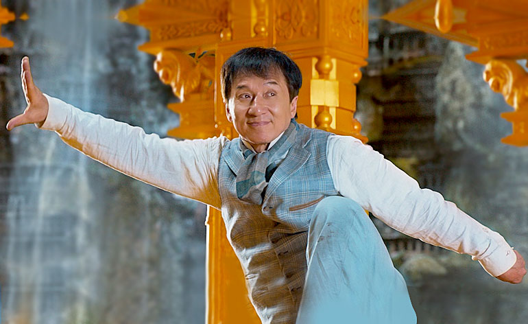 Interview with Jackie Chan - Kung Fu Kingdom