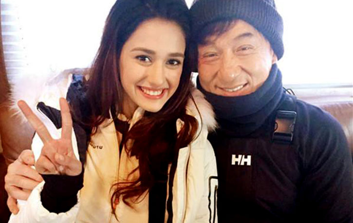 Kung Fu Yoga went to Iceland!