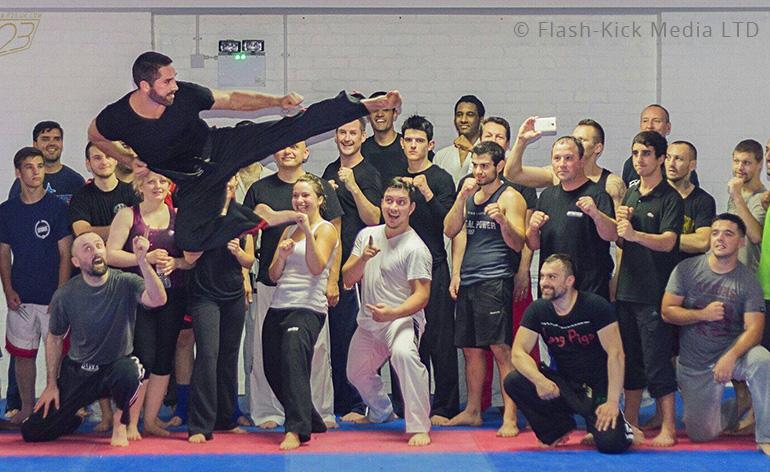 Scott Adkins Power-Kicking Seminar Competition!