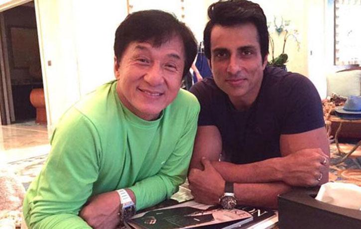 Sonu Sood with Jackie