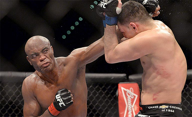 Top 5 MMA Knockouts – Anderson Silva