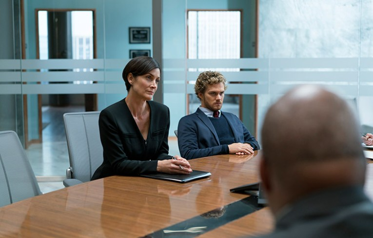 Danny has Jeri Hogarth by his side to help him with his business dealings