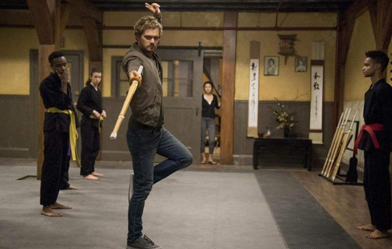 During his time in K'un Lun, Danny honed his Jianshu skills to perfection!