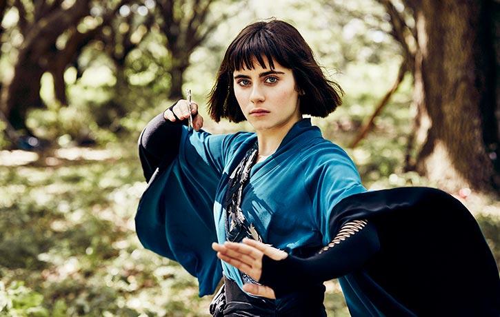 The Widow's strongest assassin is her own daughter, Tilda