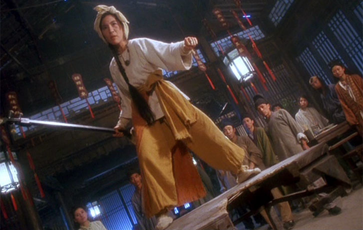 Michelle Yeoh stars as Falling Snow, a Lute playing kung fu fighter