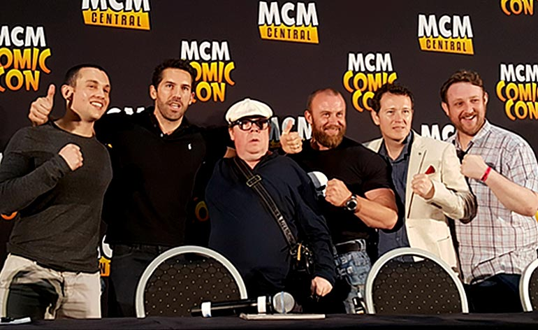Accident Man: Trailer Premieres at Comic Con!