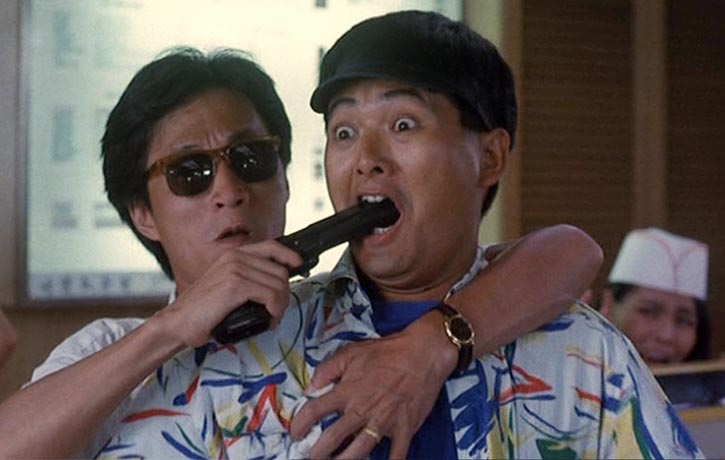 Chow Yun Fat plays against type