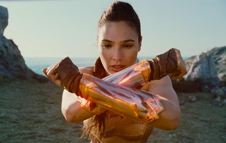 Diana's bracelets -serious armaments