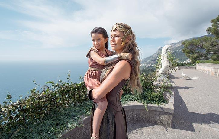 Hippolyta tells Diana of her origins...