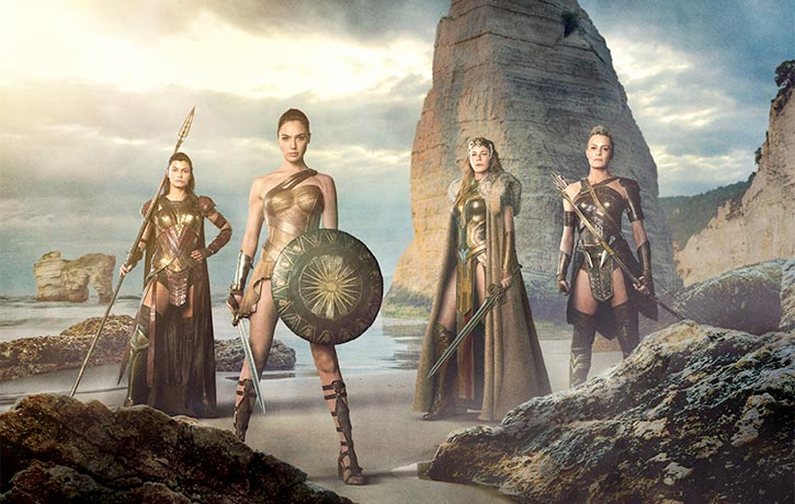 The Amazons always stand their ground!