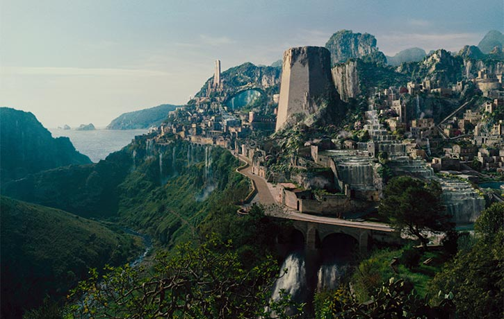 Themyscira - Home of the Amazons
