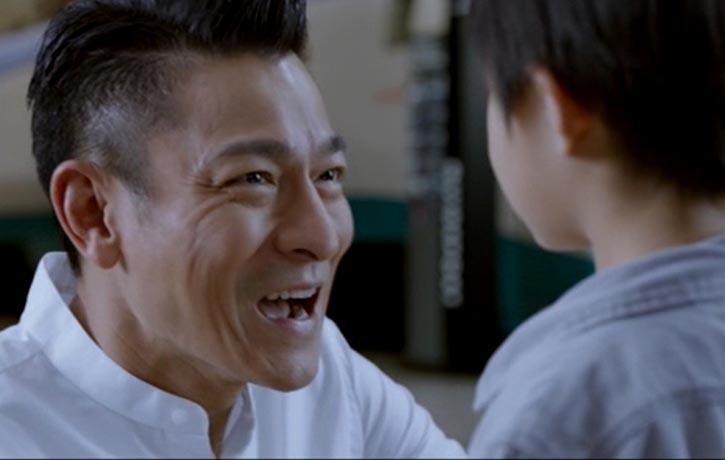 Hong Kong superstar Andy Lau has a brief cameo