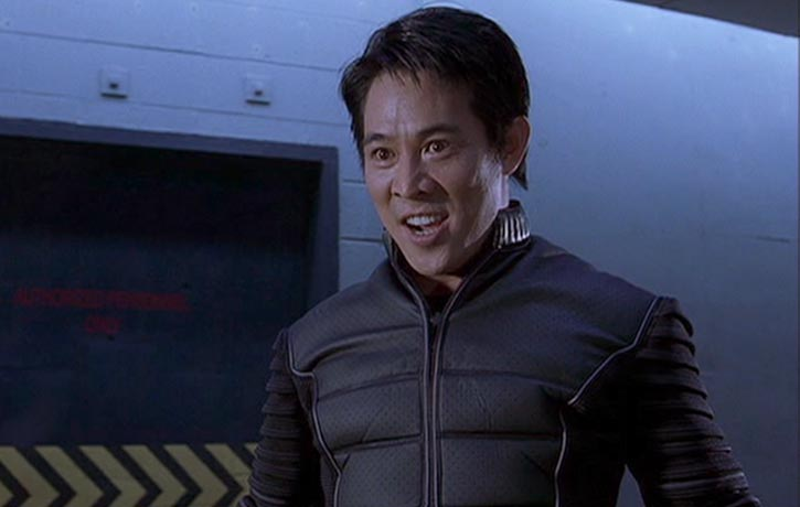 Jet Li as the sadistic Gabriel Yulaw