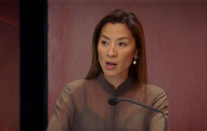 The Director's Cut features Michelle Yeoh