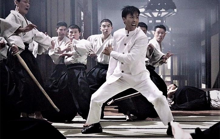 The white suit is a nod to the original Fist of Fury