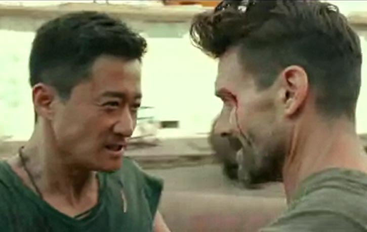 Leng Feng faces off with Big Daddy