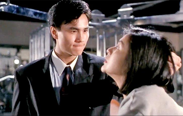 Robin Shou as the ruthless Waise Chow