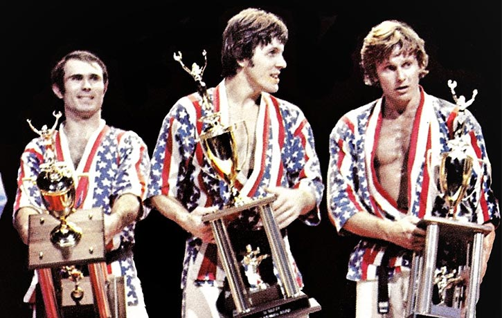 Bill Wallace with Jeff Smith & Joe Lewis