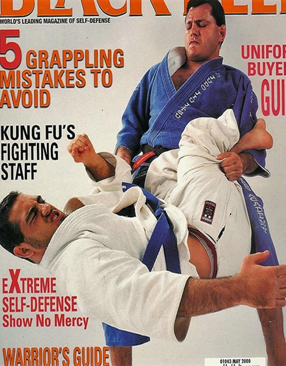 Gokor on the cover of Black Belt Magazine