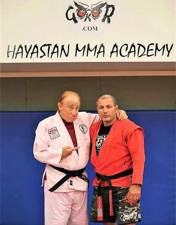 Gokor teaches at Hayastan MMA alongside his mentor Judo Gene LeBell