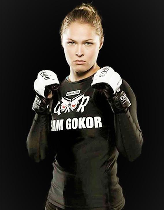 Gokor's most well known student -Ronda Rousey