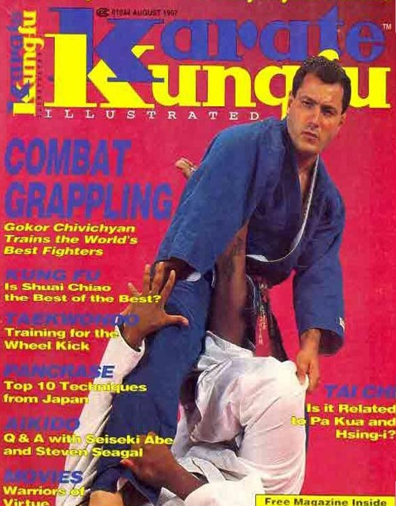 On the cover of Karate-Kung Fu Illustrated