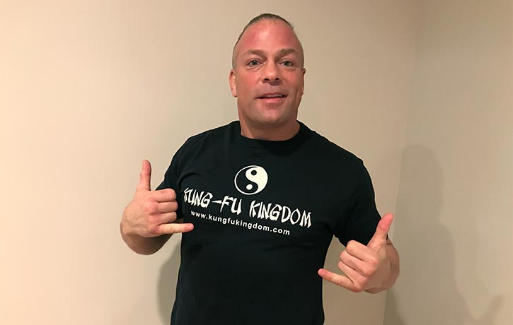 RVD knows Kung Fu, do you?