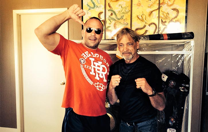 Thumbs up from Rob Van Dam!