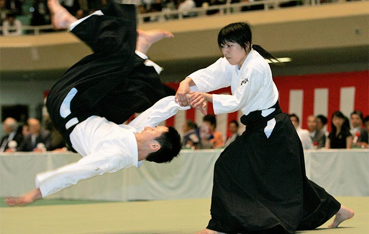 Aikido can leverage some major torque!