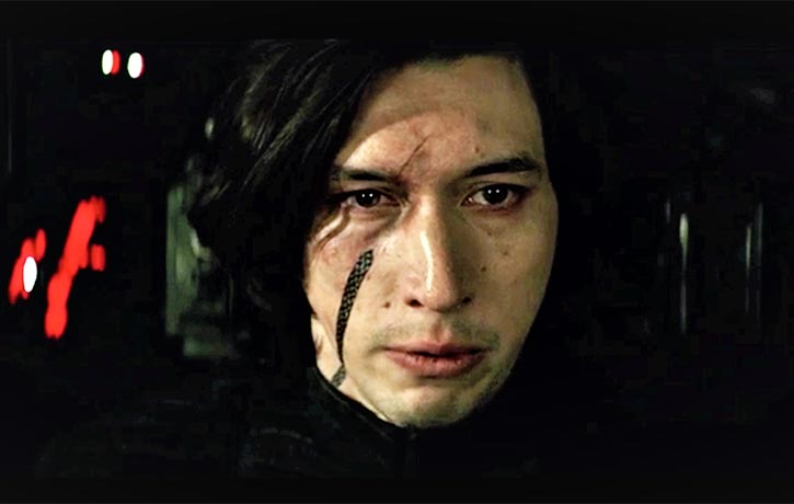 Kylo Ren is the physical embodiment of the Dark Side of The Force