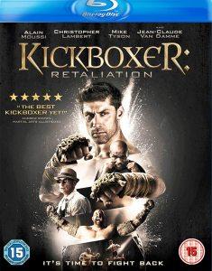 Kickboxer Retaliation Blu-ray box