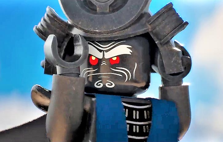 Lord Garmadon suits up for battle