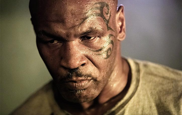 Mike Tyson plays Briggs