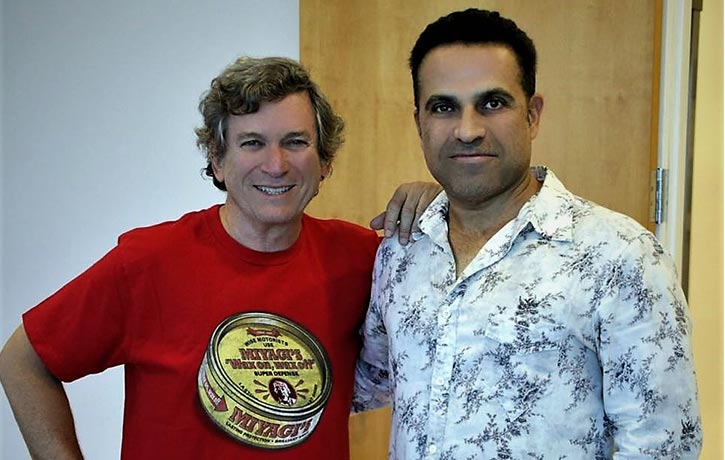 With Karate Kid Writer Robert Mark Kamen