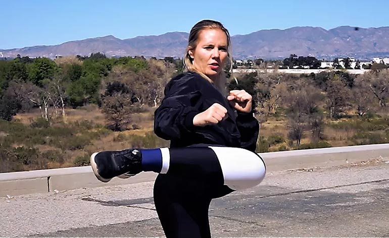 Amy Johnston -Hero Training - Kung Fu Kingdom