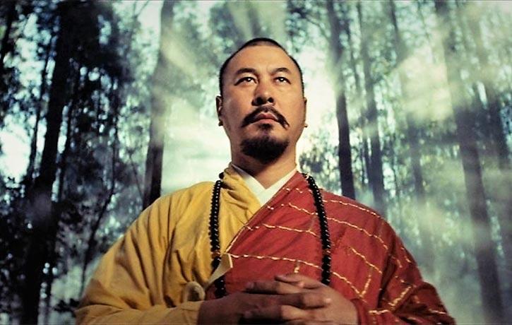 Roy Chiao Hung plays Abbot Hui Yuan