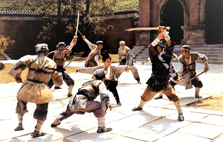 The dance-like fight scenes are captured in long, fluid takes