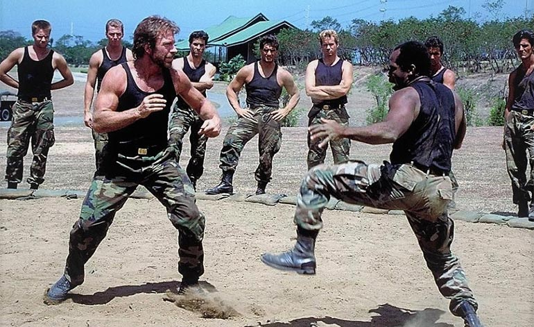 Top 10 Chuck Norris Movie Fight Scenes - Kung-Fu Kingdom
