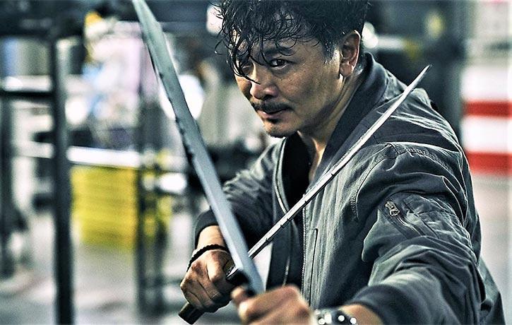 Wu Yue stars as Detective Chiu Kit