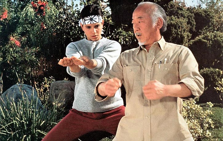Doing the Miyagi kata