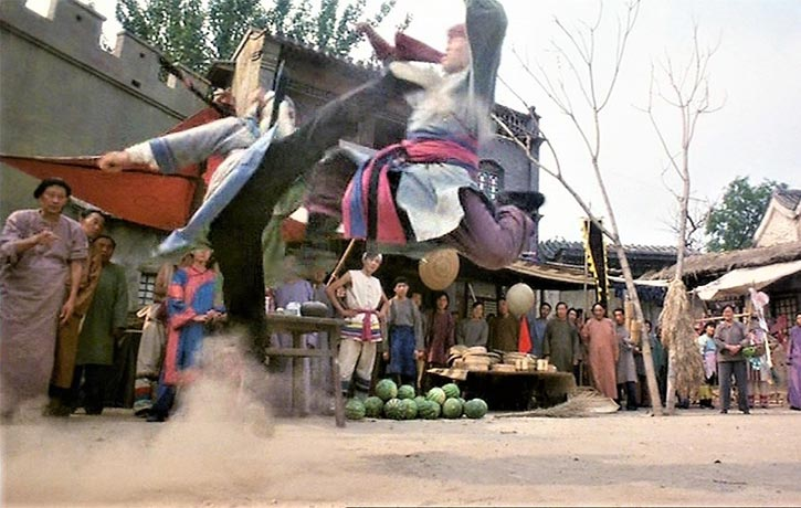Fans will enjoy Donnie Yen's familiar high kicks