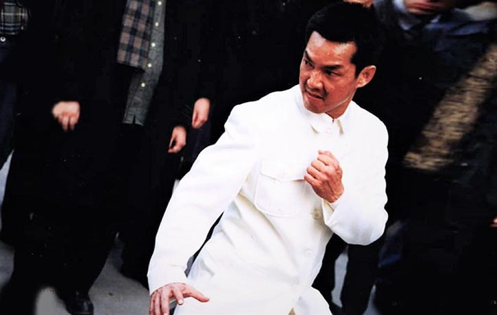 It's always a delight to see Yuen Biao in Fight Mode