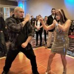 Marcos spars with legend Cynthia Rothrock!