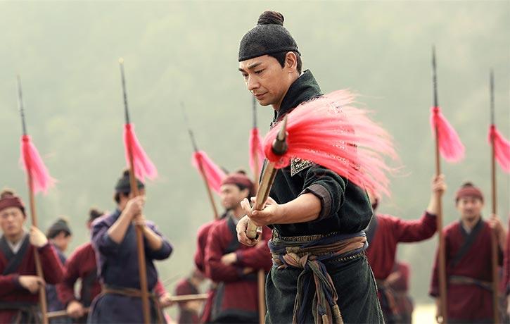 Vincent Zhao performs Qiangshu