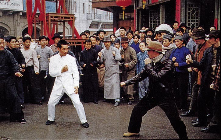 Yuen Biao faces off against Jude Poyer